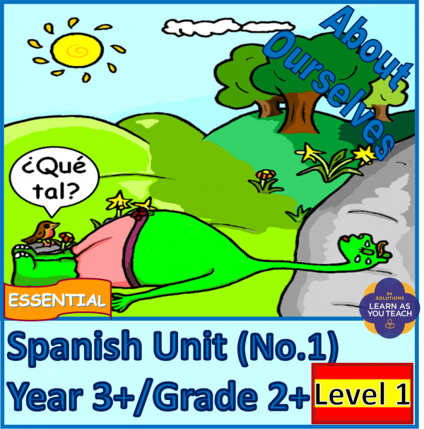 Essential Spanish Unit - About Ourselves (Level 1)